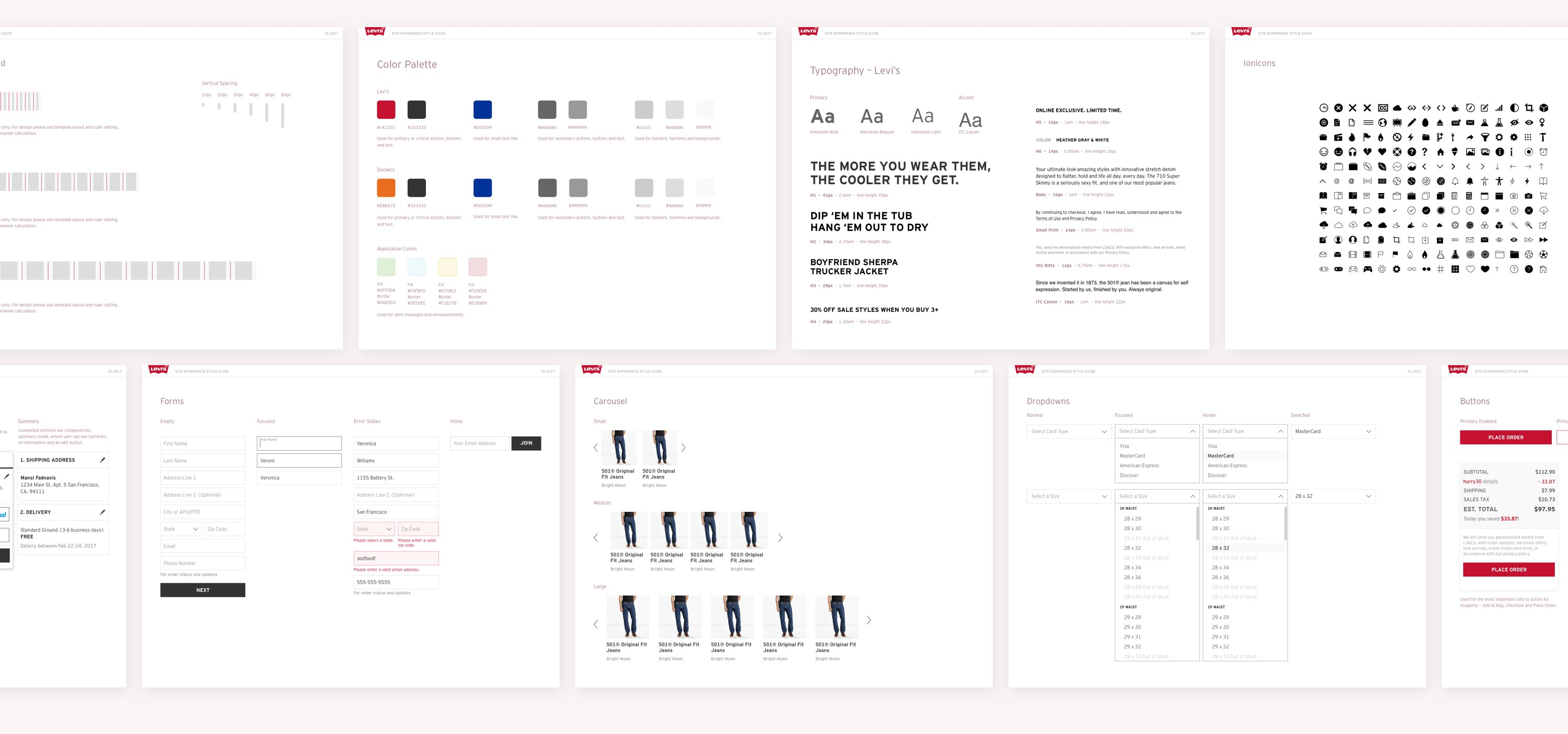 levi's style guide ux yachin you